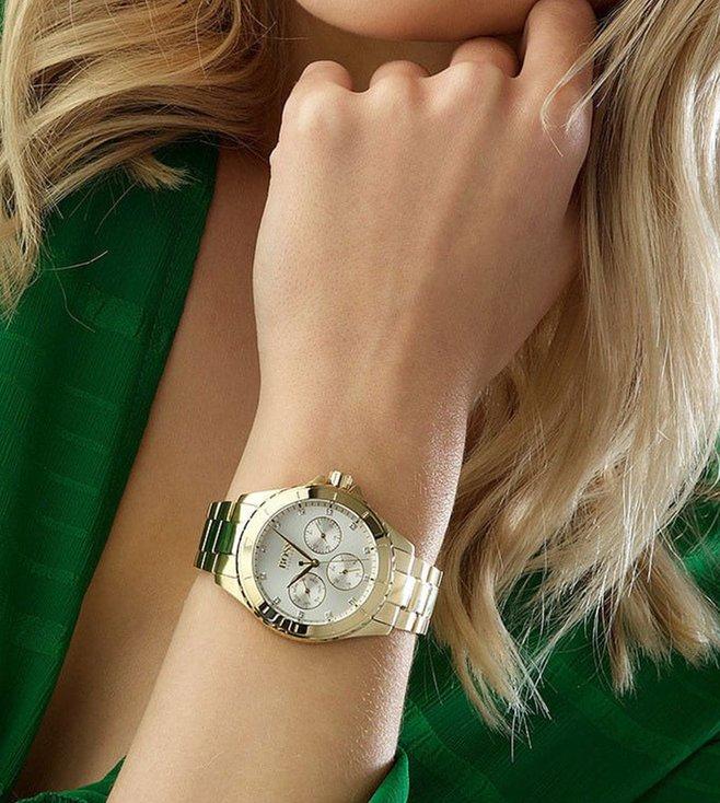a8c7d918dd9 Buy Hugo Boss Premiere 1502445 Silver Dial Watch for Women Online ...