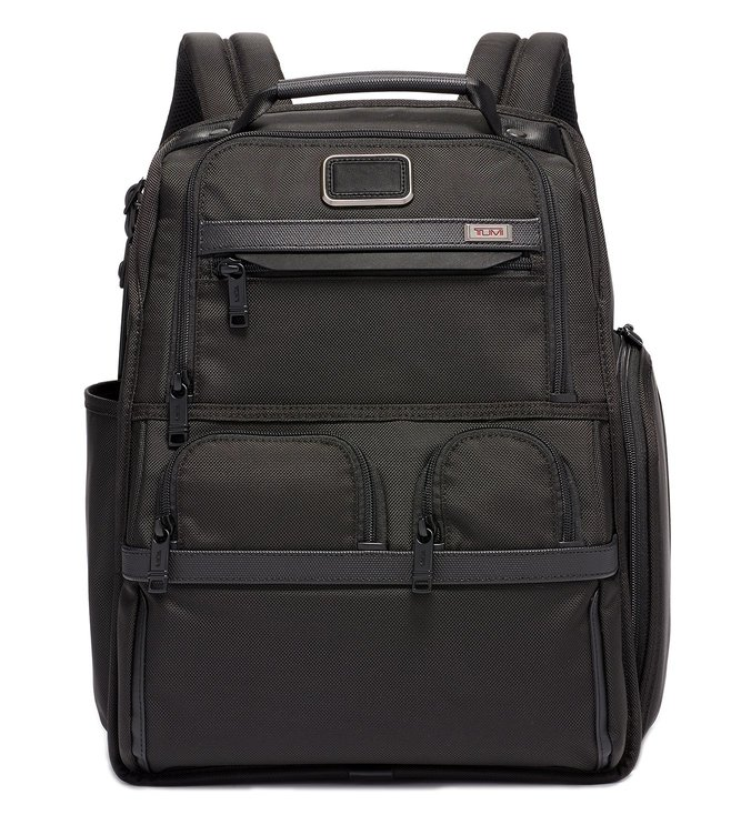 f573fb447f04 Buy Tumi Black Alpha 3 Medium Top Handle Laptop Backpack Online ...