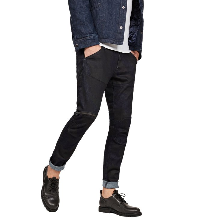 1bef07db96d G-Star RAW. G-Star RAW Rinsed 5620 3D Zip Knee Skinny Fit Jeans ...