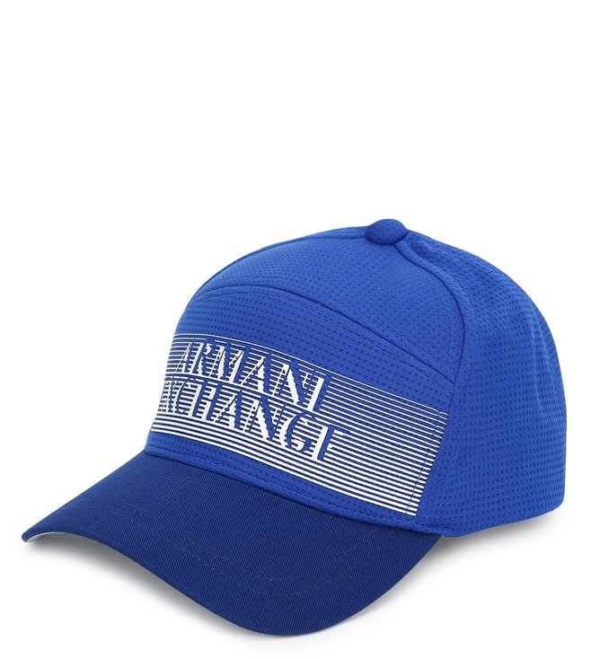 3945b08dd Buy Armani Exchange Marine Logo Print Baseball Cap for Men Online ...