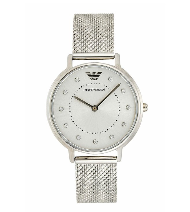 Emporio Armani AR11128 Silver Kappa Watch For Women