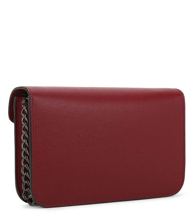 2c17ad074a Buy Longchamp Burgundy Le Pliage Heritage Small Wallet for Women Online @  Tata CLiQ Luxury
