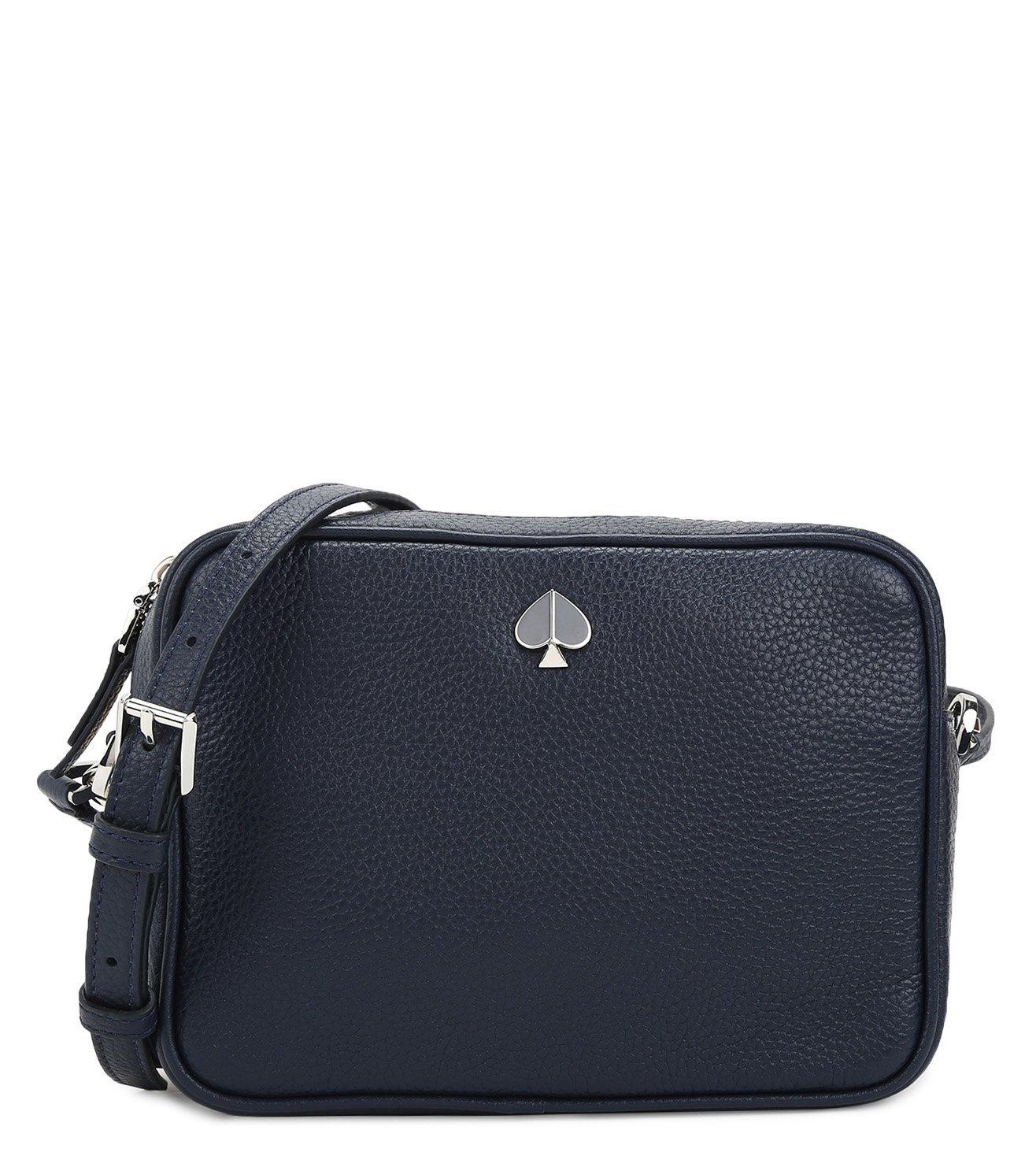 Buy Kate Spade Blazer Blue Polly Medium Cross Body Camera Bag For Women Online Tata Cliq Luxury