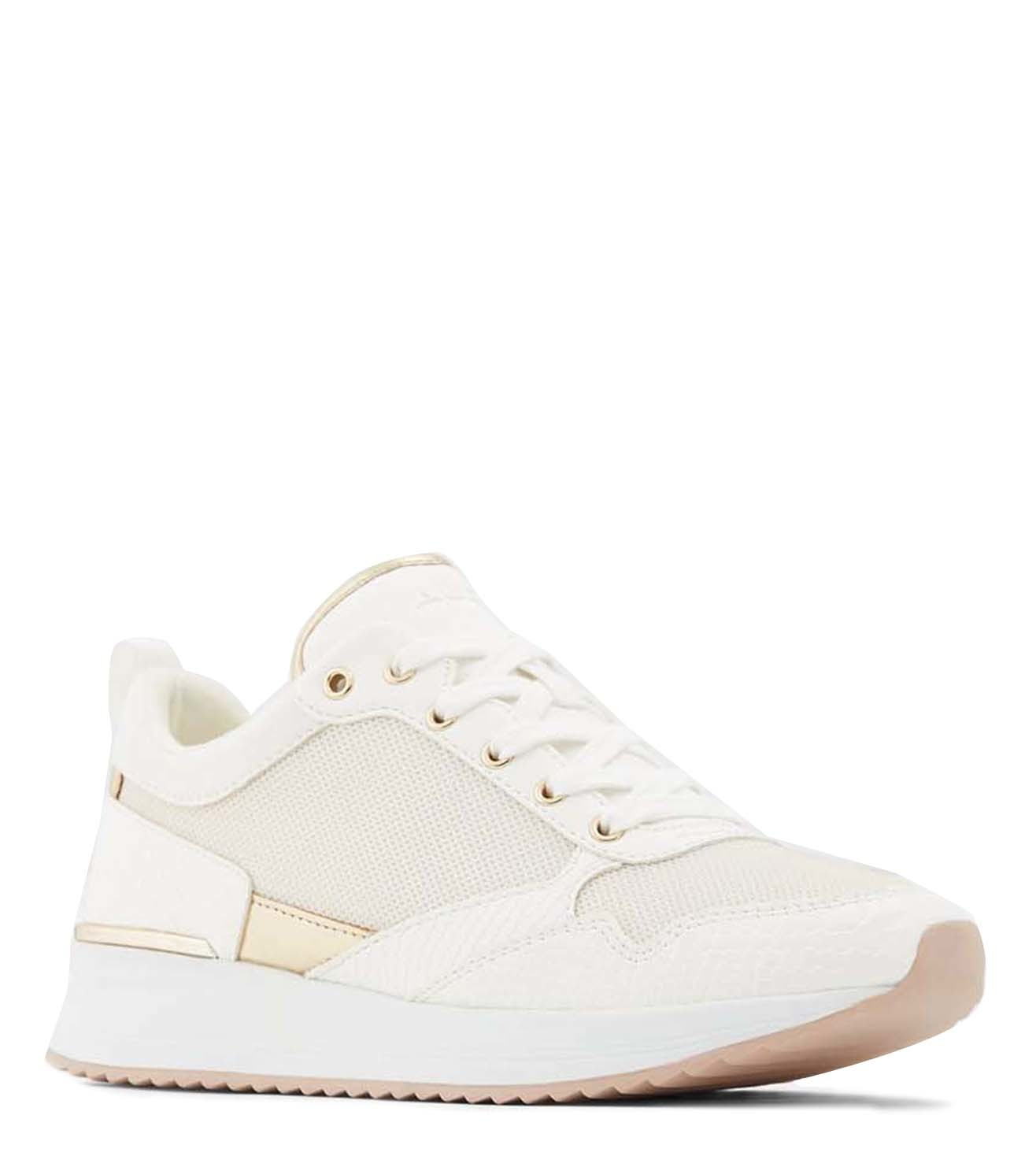 Buy Aldo White Genica Women Sneakers
