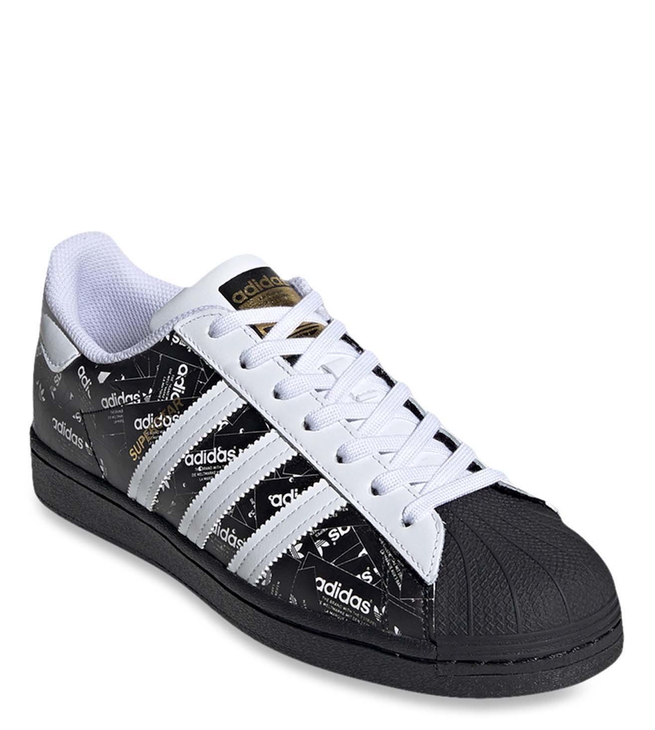 Regan luz de sol Hobart  Buy Adidas Originals Black SUPERSTAR Men Sneakers Online @ Tata CLiQ Luxury