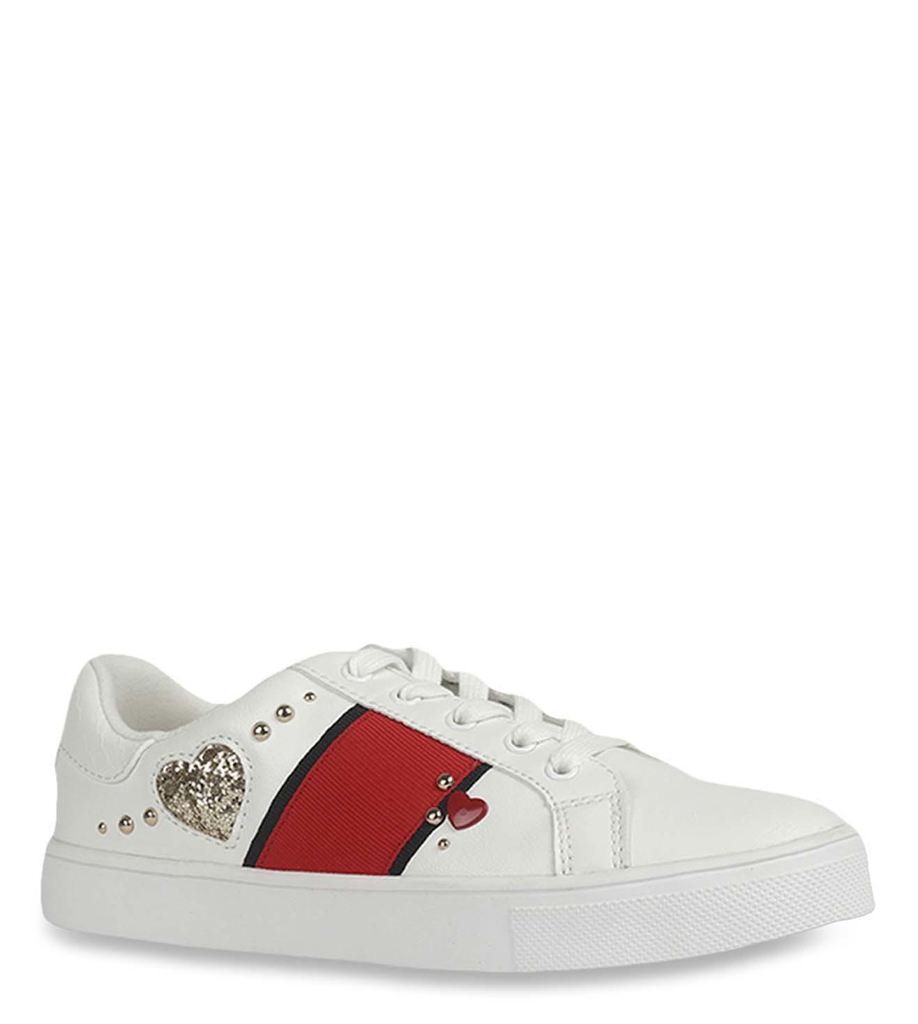 Buy Aldo White Women Sneakers for