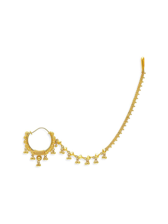 Buy Tanishq 22k Gold Nose Ring Online At Best Price Tata Cliq