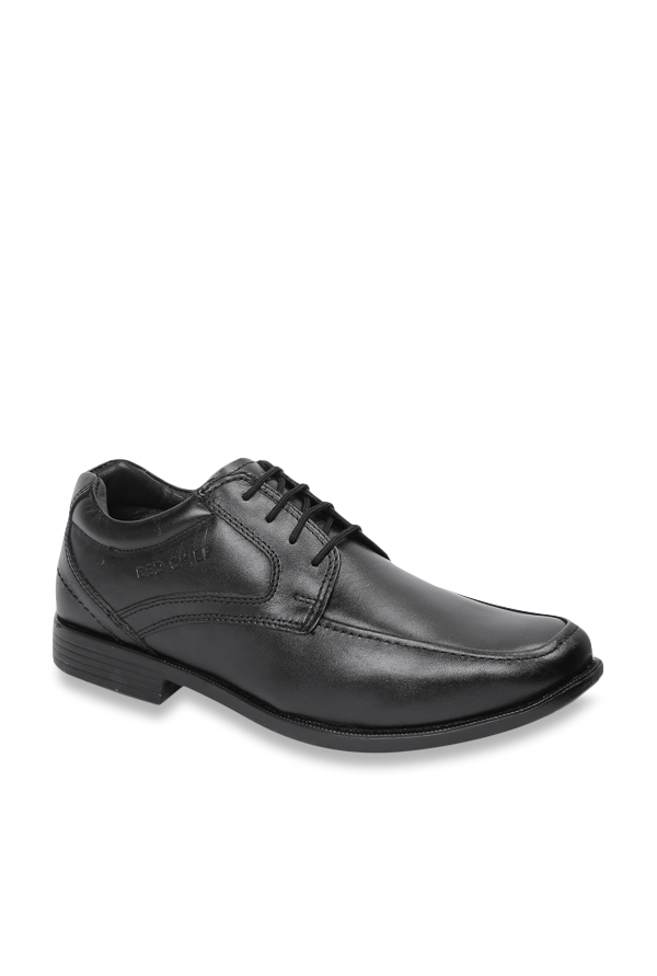 Buy Red Chief Black Derby Shoes For Men At Best Price Tata Cliq