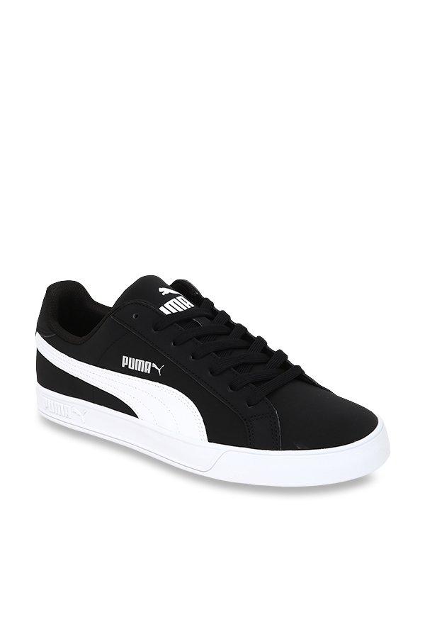 Buy Puma Smash Vulc Black Sneakers for