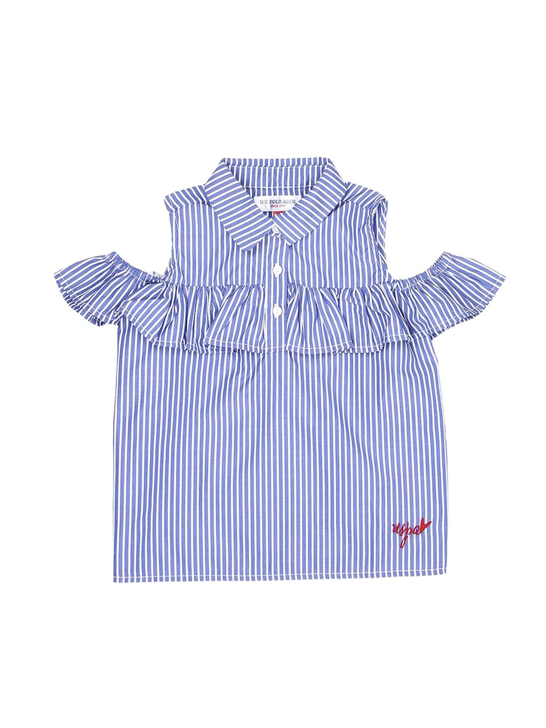 US Polo Assn Baby Girls Fashion Top and Childrens Apparel U.S