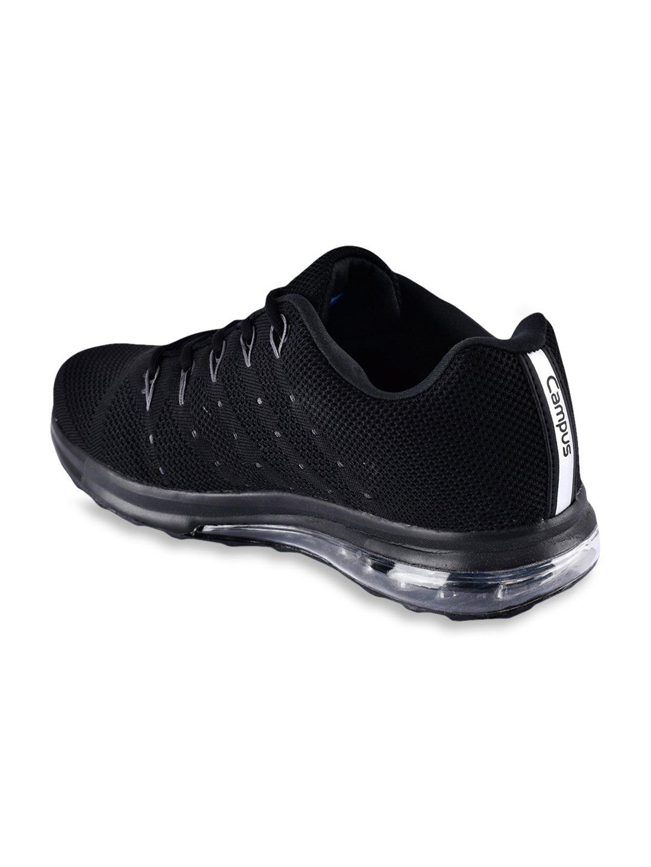 Buy Campus Peris Black Running Shoes