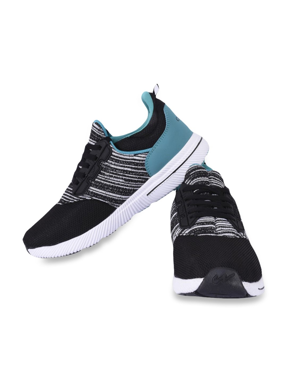 Buy Campus Jetride Black Running Shoes