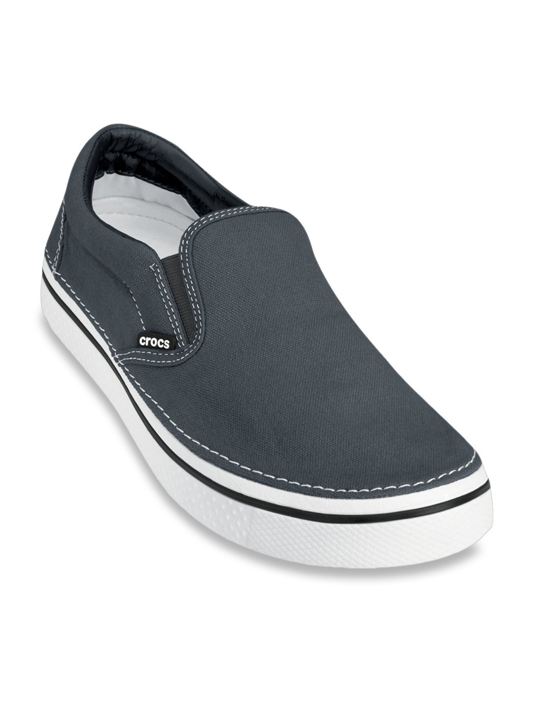 Buy Crocs Hover Charcoal Grey Slip-Ons
