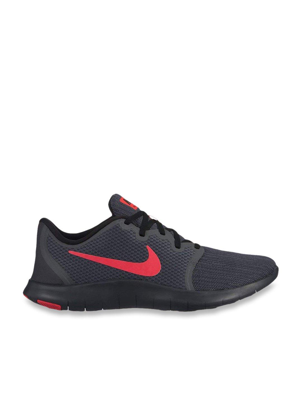 Acurrucarse Bronceado dirigir  Buy Nike Flex Contact 2 Dark Grey Running Shoes for Men at Best Price @  Tata CLiQ