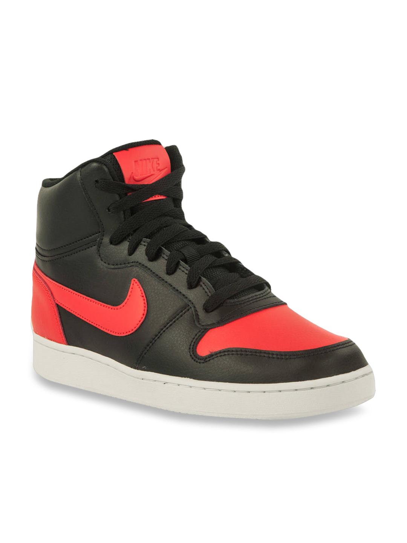 Buy Nike Ebernon Mid Black \u0026 Red Ankle