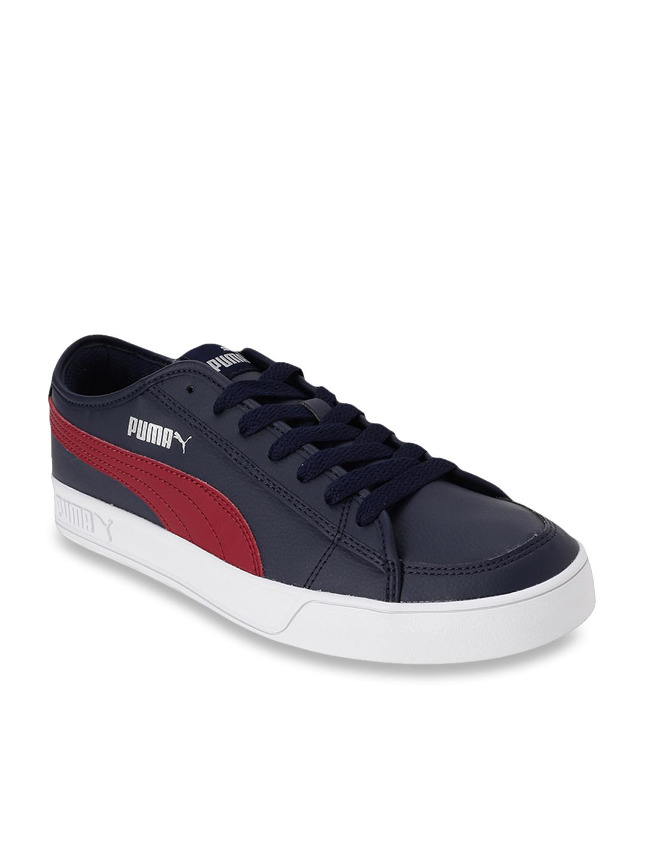 Puma Smash V2 Vulc SL Peacoat Sneakers