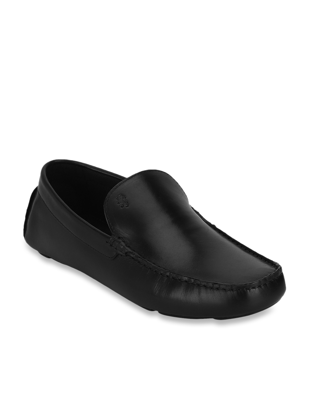 Buy Red Tape Black Casual Loafers for
