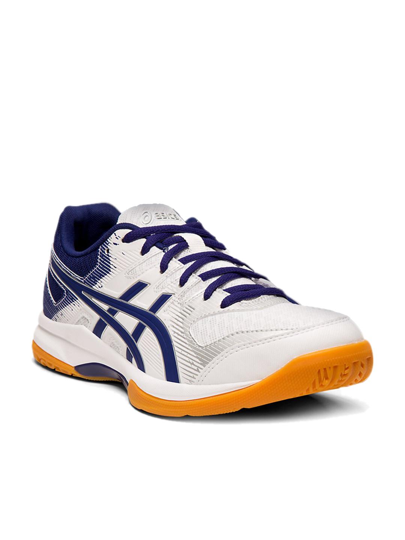Buy Asics Women's Gel-Rocket 9 White Badminton Shoes Online at ...