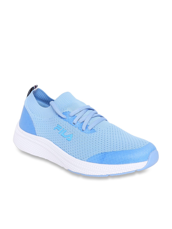 Buy Fila Halston Sky Blue Running Shoes
