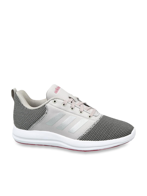 Adidas Cyberg 1.0 Grey Running Shoes