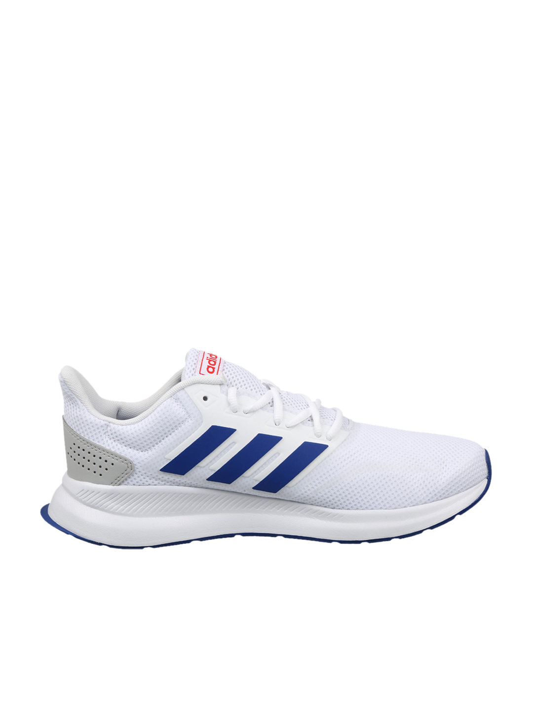 Buy Adidas Men's Runfalcon White Running Shoes Online at Best ...