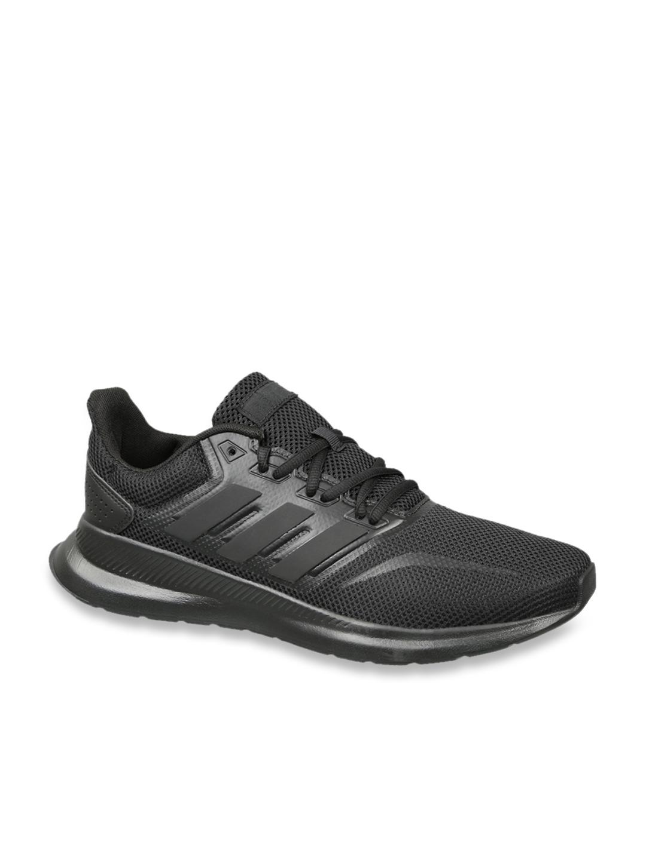 Buy Adidas Men's Runfalcon Black Running Shoes Online at Best ...