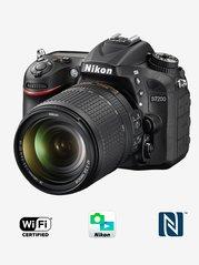 Nikon D7200 (with AF-S 18-140mm VR Kit Lens) DSLR Camera with 16GB Card and Carry Case (Black)