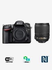 Nikon D7200 (with AF-S 18-105mm VR Kit Lens) DSLR Camera with 16GB Card and Carry Case (Black)