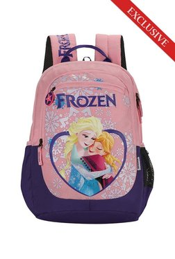 7de427c837ad Skybags SB Frozen Champ 02 Pink   Purple Printed Backpack