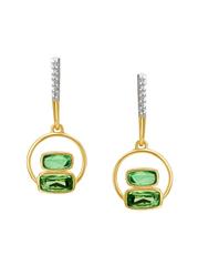 Mia by Tanishq 14 kt Gold & 0.047 ct Diamond Earrings