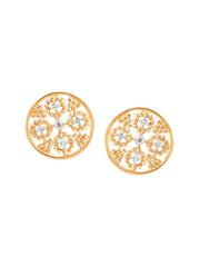 Mia by Tanishq 14 kt Gold & 0.139 ct Diamond Earrings