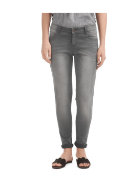 Cherokee Light Grey Lightly Washed Jeans