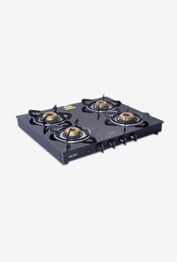 Glen 1041 GT AI 4 Burner Gas Cooktop (Black)