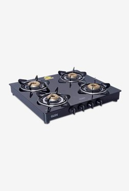 Glen 1043 GT 4 Burner Gas Cooktop (Black)