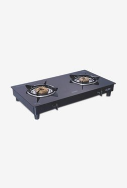 Glen 1020 GT 2 Burner Gas Cooktop (Black)