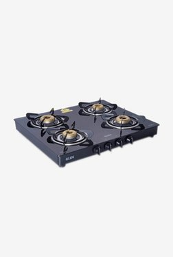 Glen 1041 GT 4 Burner Gas Cooktop (Black)