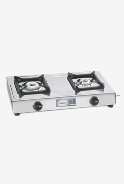 Glen LPG Stove 1020 SS 2 Burner Gas Cooktop (Steel)