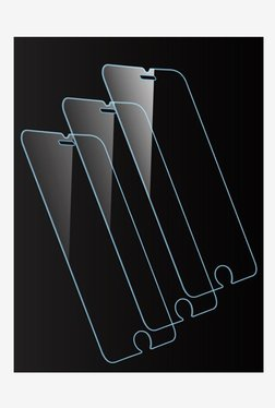 Vidvie GLPL1305 Tempered Glass for Apple iPhone X Standard Fit with Easy Installation Kit (Clear)
