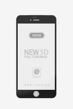 Vidvie GLPL1307 Clear Tempered Glass for Apple iPhone X Standard Fit with Installation Kit (Black)