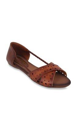 83862a19097e32 Catwalk Dark Tan Casual Sandals