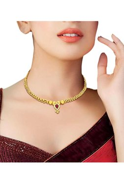 5ad1936ee3c Gold Necklaces | Gold Necklaces for Women Online - TATA CLiQ