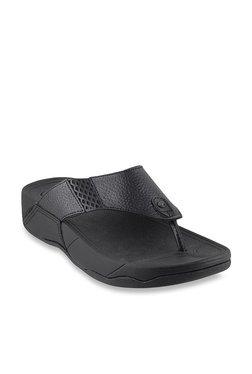 552d3eaf87ec58 Mochi Black Thong Sandals
