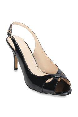5090ede77ba Catwalk Black Peeptoe Stilettos