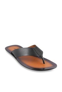 5fbc9f3079e2 J. Fontini by Mochi Black Thong Sandals