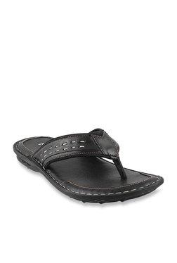b80a5050e Metro Black Thong Sandals