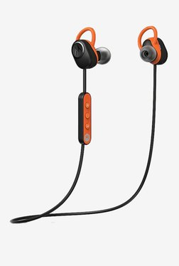 Motorola Verve Loop Bluetooth Headset with Mic (Black/Orange)