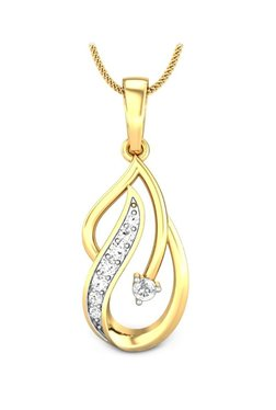 bd7f1ab1df Buy Diamond Pendants   Sets Online At Best Price in India at Tata CliQ