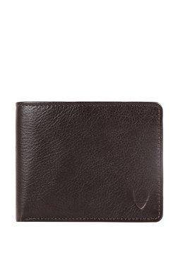 7b6114559f Hidesign 273-017 Ee Dark Brown Solid Leather Bi-Fold Wallet