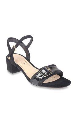 cc16650e7c78 Clarks Orabella Shine Black Ankle Strap Sandals
