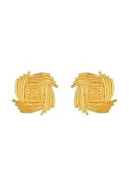 Tanishq 22 Kt Gold Earrings